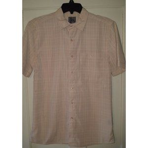 *5/$20NWT Mens Small Microfiber Button Front Shirt